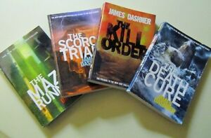 Maze Runner…The Scorch Trials...The Death Cure...The Kill Order