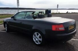 Audi A4 2.4 V6 sport convertible, 6month MOT, low miles, low price