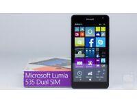 LUMIA 535 Microsoft Windows phone.