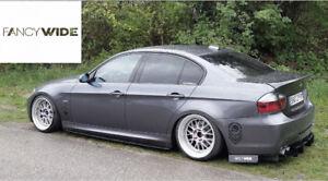 Bmw fancy wide rear diffuser