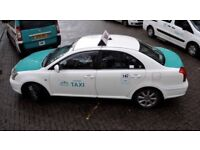 Hackney taxi wanted for rent