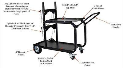 Metal Man Heavy Duty Universal Welding Cart Uwc4