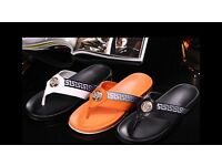 Brand new men's sliders/flip flops moschino Gucci Versace