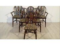 Set vintage chairs