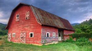Looking to Rent an old barn