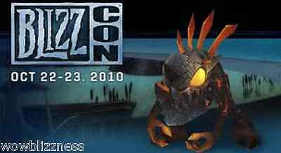 BlizzCon 2010 Deathy Pet!!! - WoW - LOOT CODE World of Warcraft