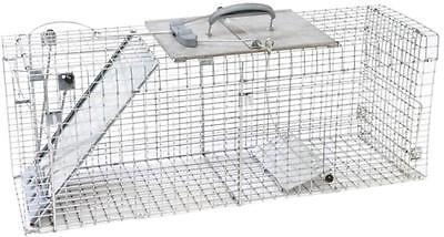 NEW HAVAHART 1090 USA MADE EASY SET GARDEN RABBIT SQUIRREL LIVE ANIMAL TRAP CAGE ()