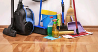 Offering cleaning service
