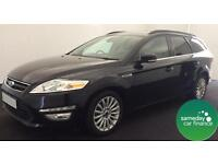 ONLY £229.47 PER MONTH BLACK 2013 FORD MONDEO 1.6 E/B ZETED BUSINESS EDITION