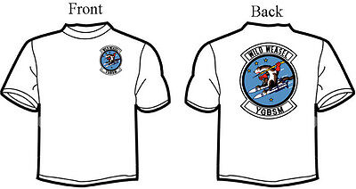 Wild Weasel Squadron T-Shirt, 1970's Logo, F-105, F-4, Customize - 1970 Mens Clothes