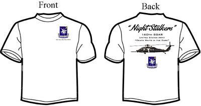 160th SOAR Night Stalkers MH-60 Squadron T-Shirt, Long or Short (Night Long Short)