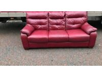 3 seater Sofa in a thick leather Hyde