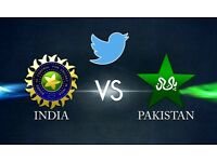 India vs Pakistan 6XAdults Tickets at £1500