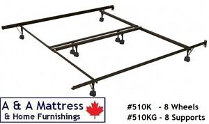 METAL BED FRAMES! Canadian Made & BUILT TO LAST! TAX Included London Ontario image 6