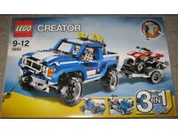 Lego Creator 4x4 Truck & Quad or Transporter Truck or Racing Car Huge 3 in 1 Set