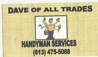 FALL CLEAN UPS & SNOW REMOVAL SERVICE