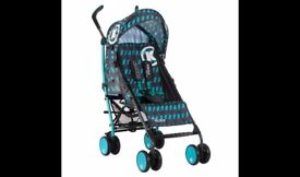 Koochi Pushchair Brand New in Box With Raincovers