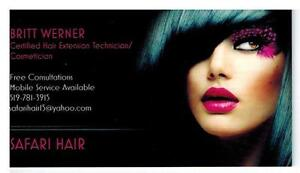 Premium Hair Extensions - By Safari Hair - Fall Promotion Cambridge Kitchener Area image 1