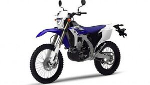 LOOKING FOR 2014 OR NEWER WR450 *ROAD LEGAL*