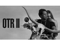 X2 Seated Beyonce & JayZ Tickets - OTR II - £100 - London - 15/06/18