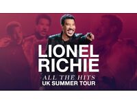 1 x Lionel Richie Ticket for Sale Holkham Hall 24th June