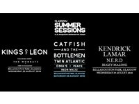 3 x Two day tickets - summer sessions -KOL and Catfish