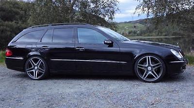 Mercedes Benz E w211 s211 Tieferlegung AIRMATIC FAHRWERK ALLE AMG CDI amg sport