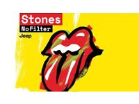 4 Rolling Stones tickets Manchester June 5th