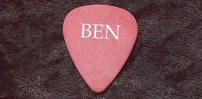 BEN HARPER 2007 Lifeline Tour Guitar Pick!!! Ben's custom concert stage Pick #2
