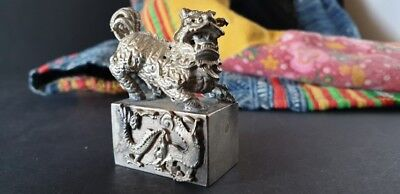 Old Chinese Foo Dog Stamp …beautiful collection item