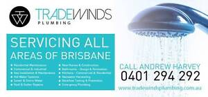 PLUMBER & GASFITTER - Tradewinds Plumbing Pty Ltd Cannon Hill Brisbane South East Preview