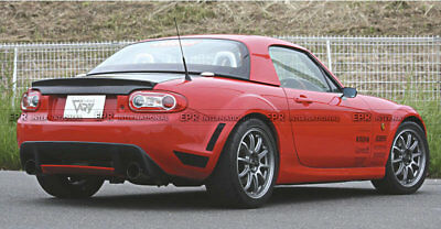 For MX5 NC NCEC Roster Miata GVN Style Rear Diffuser with Centre Flap Carbon+FRP