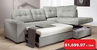 TIGRIS SECTIONAL SOFA WITH STORAGE