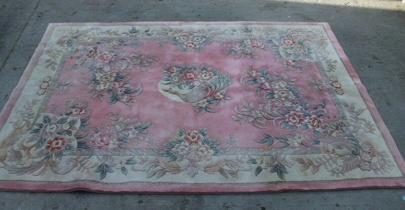 EXTRA LARGE Wool Hand Crafted Rug / Carpet - Vintage