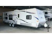2010 JAYCO JAY FLIGHT G2 29BHS 29FT American Caravan RV 5th Wheel Trailer Static