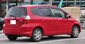 Honda Fit 2008 Red $3500 OBO