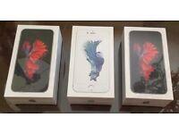 APPLE IPHONE 6s SPACE GREY UNLOCKED 16GB BRAND NEW BOXED APPLE WARRANTY & shop receipt