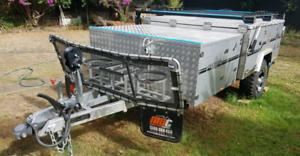 Camper trailer MDC Jackson Forward Fold hard floor 2018.