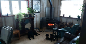 Certified air tight wood stove