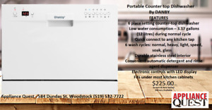 Scratch and Dent Danby countertop dishwasher