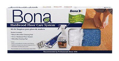 BONA ® HARDWOOD FLOOR CARE SYSTEM KIT WITH MOP  BONAKEMI USA, INC.