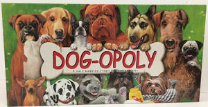 Dog- opoly and Horse-opoly Games