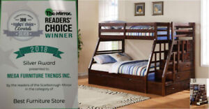 Kids Bunk Bed ** Trundle Beds ** Kids Bedroom Set Starting $199
