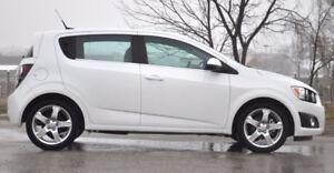 2012 White Chevrolet Sonic Hatchback LTZ, Turbo