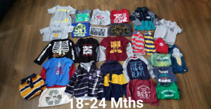 Toddler Boys Fall Winter Clothes 18 mths 18-24 mths