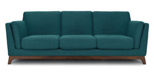 Article Blue Lagoon Sofa New (2 left )