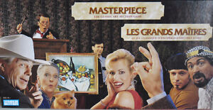 Masterpiece the Art Auction Game 1996 Classic Board Game