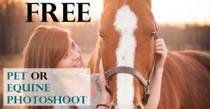 FREE Pet/Equine Photoshoot with award winning photographer