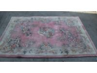 Wool Hand Crafted Rug / Carpet - Extra Large
