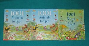 usborne 1001 Animals and bugs to SPOT